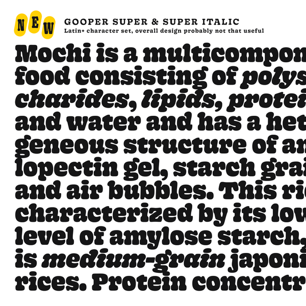 Gooper by Very Cool Studio - Future Fonts